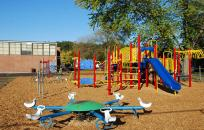 L A White Playground
