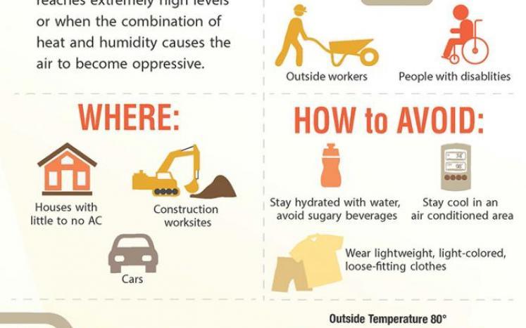 Extreme heat tips