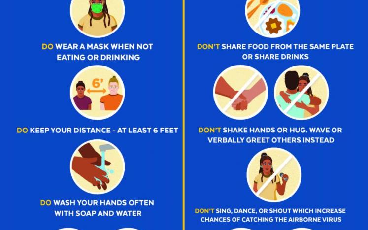 Tips for a safe Thanksgiving from the Massachusetts Department of Public Health